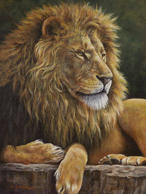 Painting - Lion Around by Kim Lockman