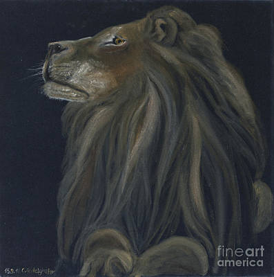 Proud Lion Original by Claudia Luethi alias Abdelghafar