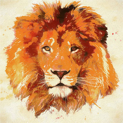 Pride Painting - Lion by Dan Sproul
