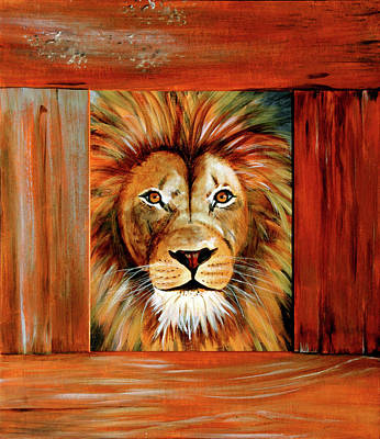 Painting - Lion by Dorothy Riley