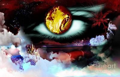 Lion Eyes Original by LDS Dya