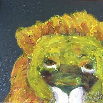Painting - Lion Family Part 1 by Donald J Ryker III