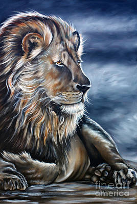 Lion Art Print by Ilse Kleyn