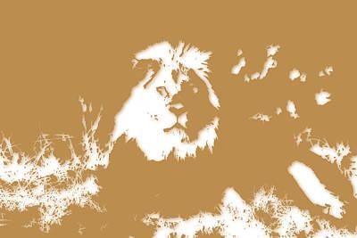 Lion Art Print by Joe Hamilton