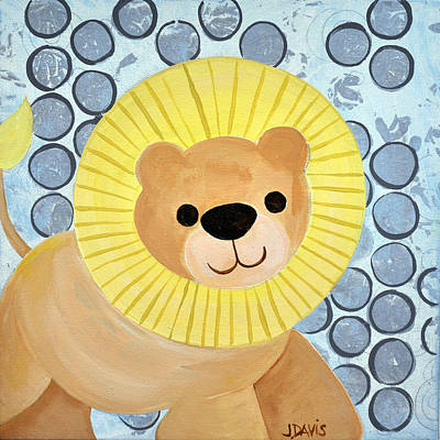 Painting - Lion by Julie Davis