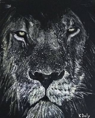 Painting - Lion by Kevin Daly