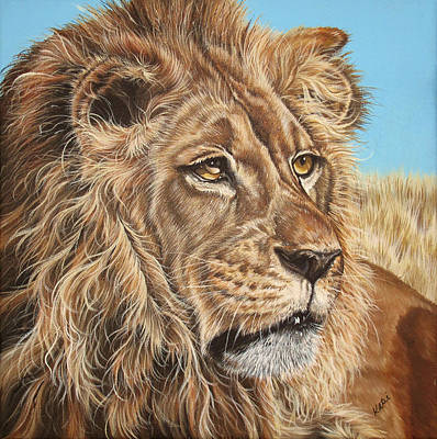 Painting - Lion King by Katie McConnachie