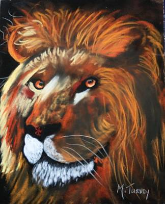 Pastel - Lion King by Michele Turney