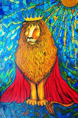 Painting - Lion-king by Rae Chichilnitsky