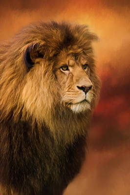 Painting - Lion Legacy - Lion Art by Jordan Blackstone