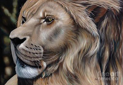 Lion Of Judah Painting - Lion Of Judah by Ilse Kleyn
