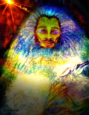 Drawing - Lion Of Judah Lamb Of God II by Anastasia Savage Ealy