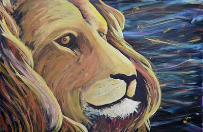 Painting - Lion Of Judah by Lisa DuBois
