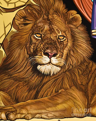 Painting - Lion Of Judah - Lwlio by Lewis Williams OFS