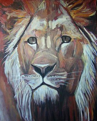 Lion Of Judah Painting - Lion Of The Tribe Of Judah by Dana Jensen