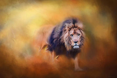 Photograph - Lion - Pride Of Africa 3 - Tribute To Cecil by Michelle Wrighton