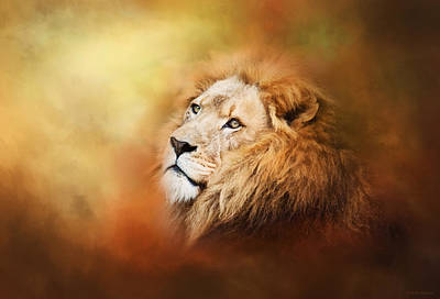 Photograph - Lion - Pride Of Africa II - Tribute To Cecil by Michelle Wrighton