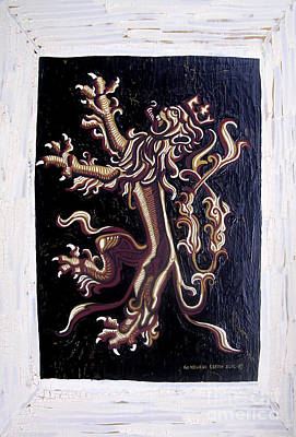 Painting - Lion Rampant by Genevieve Esson