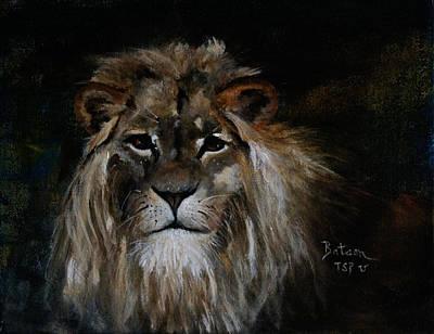 Sargas The Lion Art Print