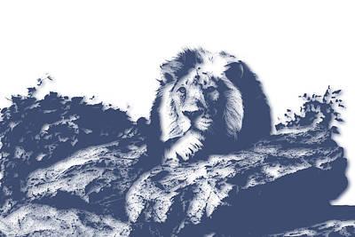Lion3 Art Print by Joe Hamilton