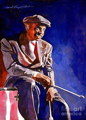 Music Legends Painting - Lionel Hampton  by David Lloyd Glover