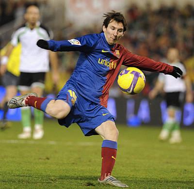 Lionel Messi Art Print by Rafa Rivas