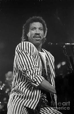 Photograph - Lionel Richie Painting by Concert Photos
