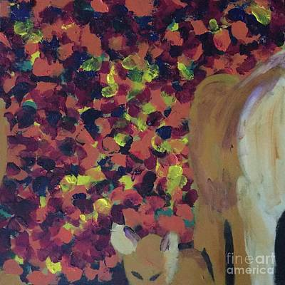 Painting - Lioness' Pride Print 2 by Donald J Ryker III