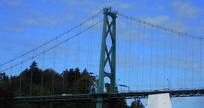 Photograph - Lions Gate 3 by Ron Kandt