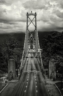 Photograph - Lion's Gate Rush Hour by Brad Koop