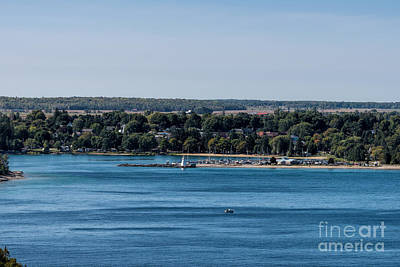 Photograph - Lions Head Harbor, Ontario by Les Palenik