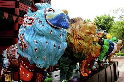 Photograph - Lions In Ponce II by Janice Aponte