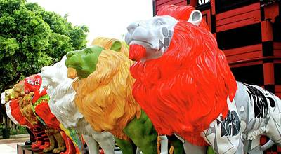 Photograph - Lions In Ponce by Janice Aponte