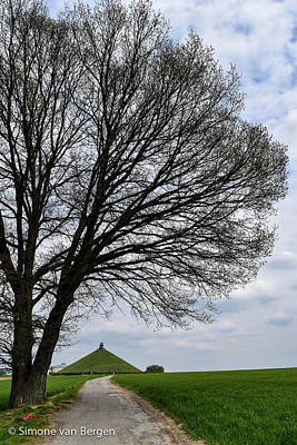 Photograph - Lion's Mound Waterloo by Simone Van Bergen