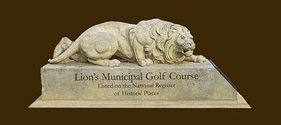 Golf Statues Photograph - Lion's Municipal Golf Course I I      by Jim Smith