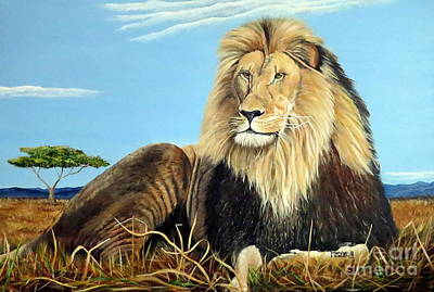 Painting - Lions Pride by Marilyn McNish