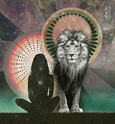 Digital Art - Lionsgate portal by Lori Menna