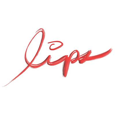 Drawing - Lips by Bill Owen