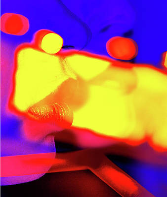 Benetton Wall Art - Digital Art - Lips by Double Fantasy