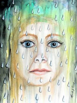 Painting - Liquid Catharsis by Linda Nielsen