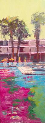 Painting - Liquid Fuschia by Kathleen Strukoff