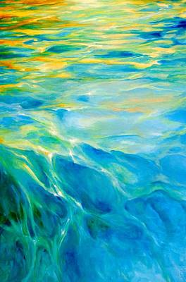 Painting - Liquid Gold by Dina Dargo