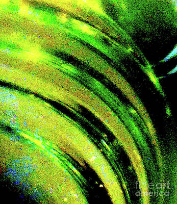 Liquid In Glass 9 Abstract Art Print by Ken Lerner