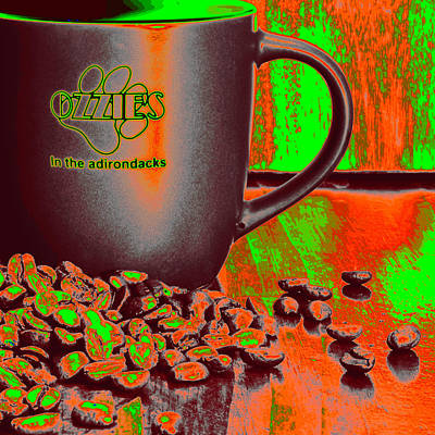 Starbucks Photograph - Liquid Joy From Ozzie's by David Patterson