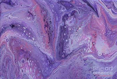 Painting - Liquid Lavender by Jean Clarke