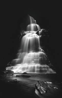 Photograph - Liquid Light At Cathedral Falls  by Shane Holsclaw