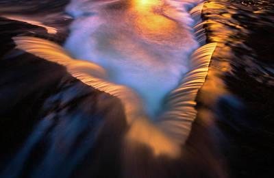 Photograph - Liquid Light by Joseph Rossbach