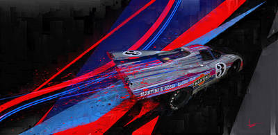 Martini Royalty-Free and Rights-Managed Images - Liquid Livery by Alan Greene