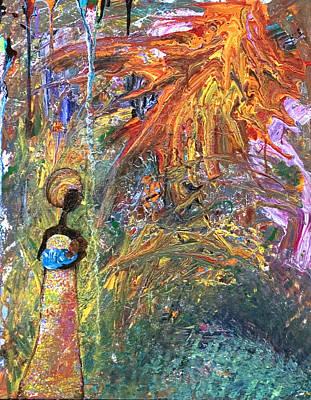 Pai Painting - Liquid Sun by Ramel Jasir