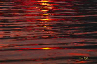 Liquid Sunset - Lake Geneva Wisconsin Art Print